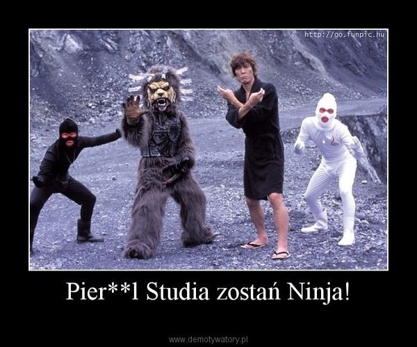 Pier**l Studia zostań Ninja! –