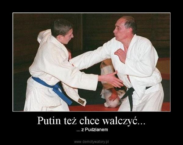 Putin też chce walczyć... –  ... z Pudzianem