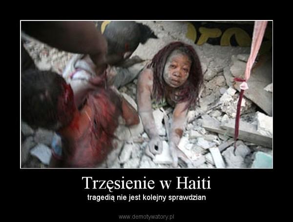 Trzęsienie w Haiti – tragedią nie jest kolejny sprawdzian