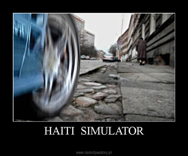 HAITI  SIMULATOR –