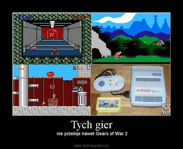 Tych gier –  nie przebije nawet Gears of War 2