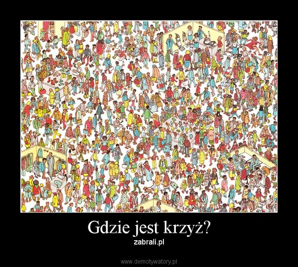 Gdzie jest krzyż? – zabrali.pl