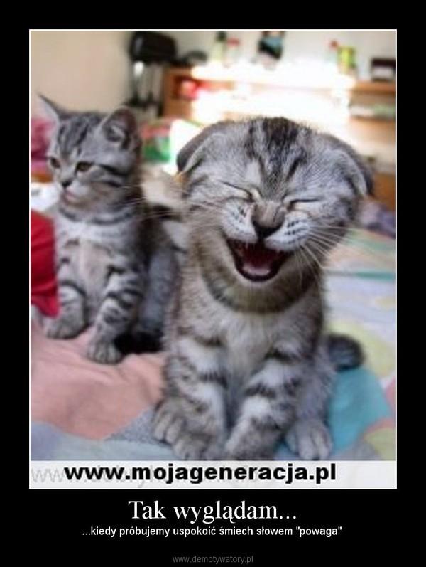"""Tak wyglądam... – ...kiedy próbujemy uspokoić śmiech słowem """"powaga"""""""