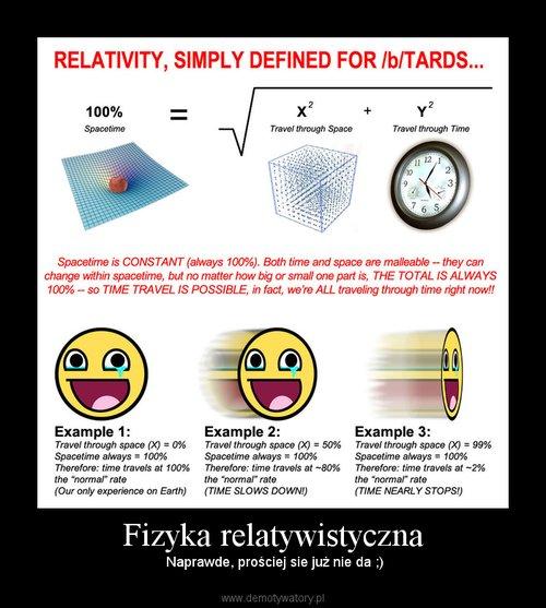 Fizyka relatywistyczna