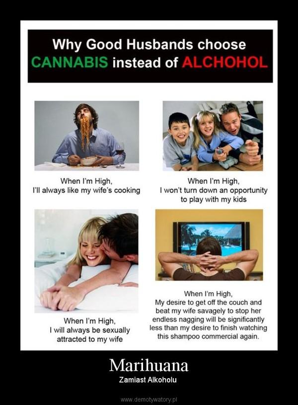 Marihuana – Zamiast Alkoholu