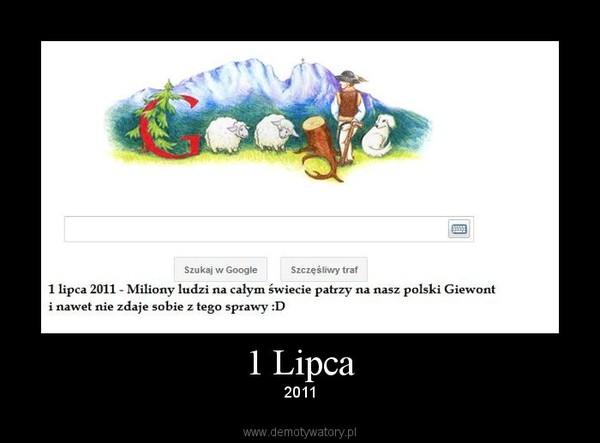 1 Lipca – 2011