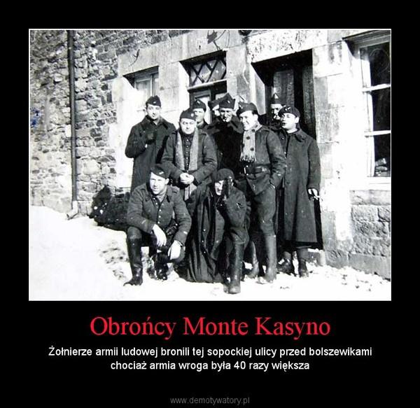 Obrońcy Monte Kasyno