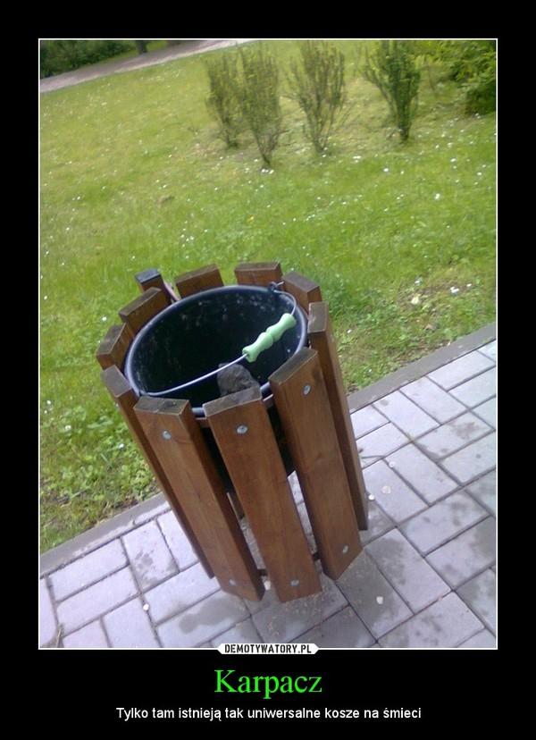 Karpacz – Tylko tam istnieją tak uniwersalne kosze na śmieci