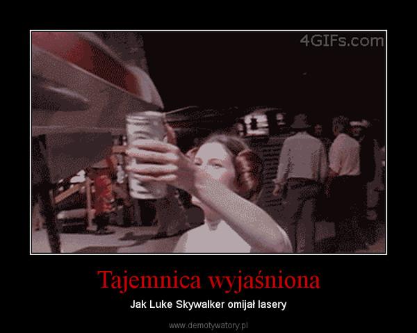 Tajemnica wyjaśniona – Jak Luke Skywalker omijał lasery