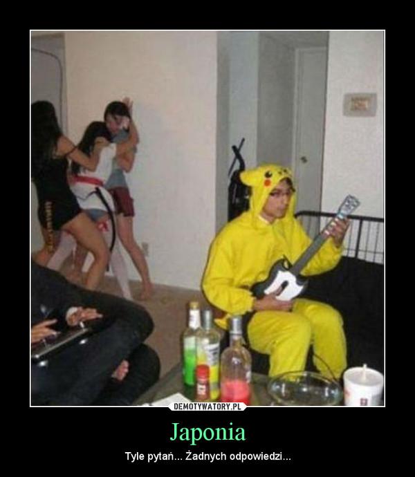Japonia – Tyle pytań... Żadnych odpowiedzi...