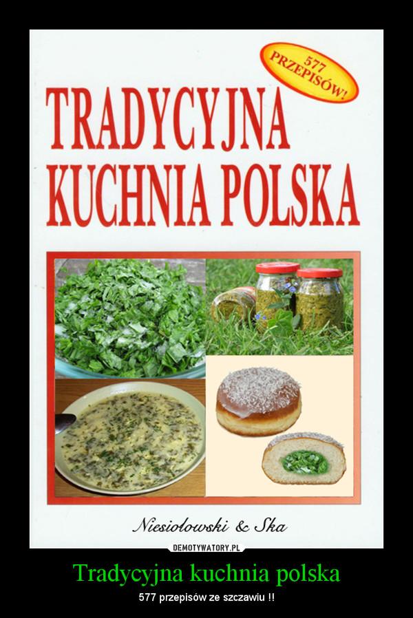 Tradycyjna Kuchnia Polska Demotywatorypl