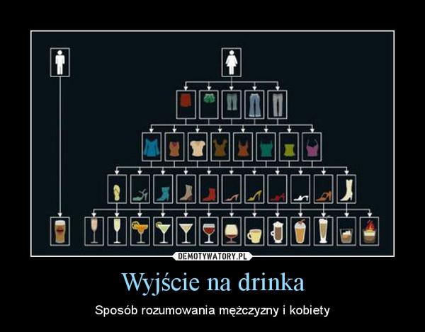 Wyjście na drinka – Sposób rozumowania mężczyzny i kobiety