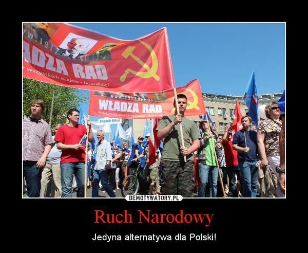 Ruch Narodowy – Jedyna alternatywa dla Polski!