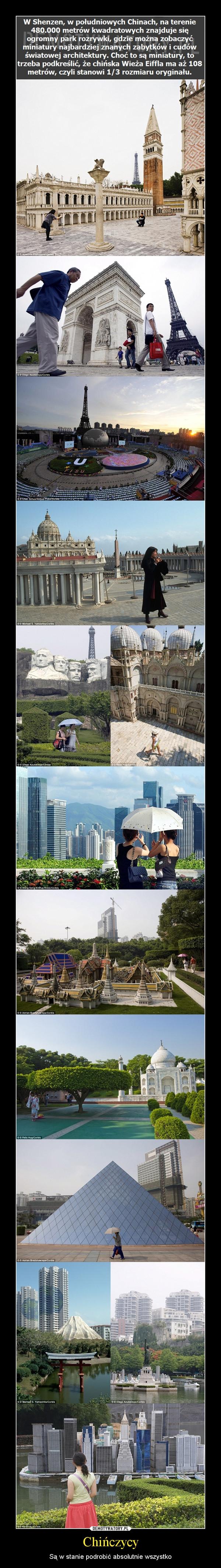 Chińczycy – Są w stanie podrobić absolutnie wszystko
