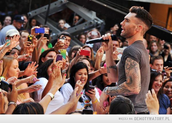 Maroon 5 – Jestem Maroonator i jestem z tego dumna.