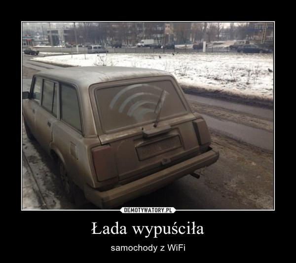 Łada wypuściła – samochody z WiFi