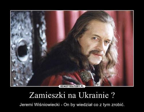 Zamieszki na Ukrainie ?