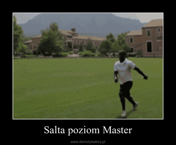 Salta poziom Master –