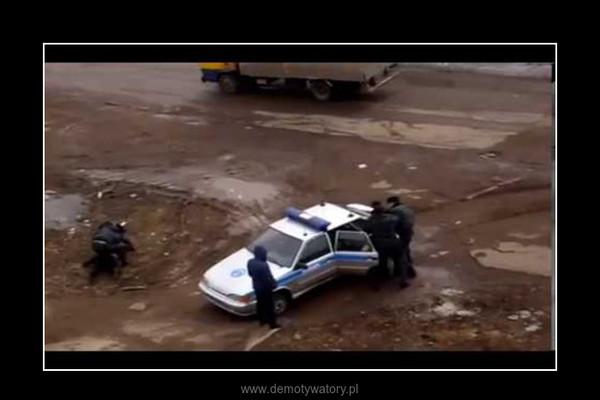 nieudolna interwencja milicji rosyjskiej – tv24h