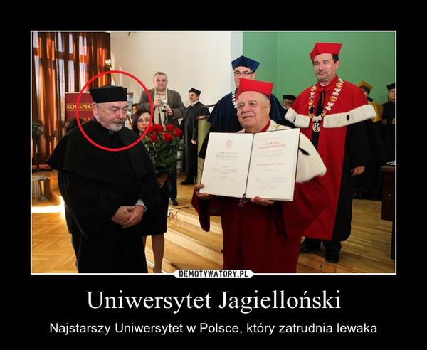 Uniwersytet Jagielloński – Najstarszy Uniwersytet w Polsce, który zatrudnia lewaka