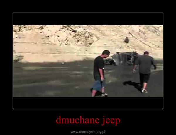 dmuchane jeep –