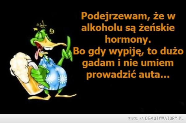 Żeńskie hormony –
