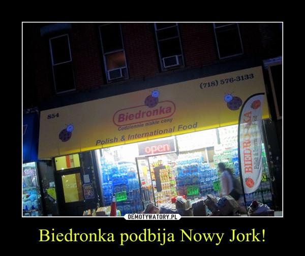 Biedronka podbija Nowy Jork! –