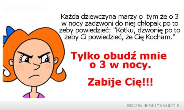 Kobiety się nie budzi –