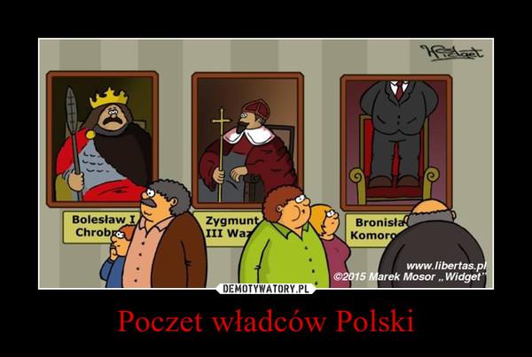 Poczet władców Polski –