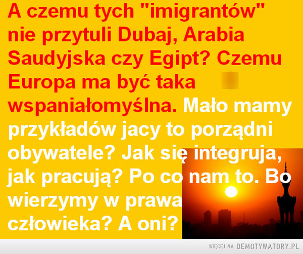 O imigrantach... ... –