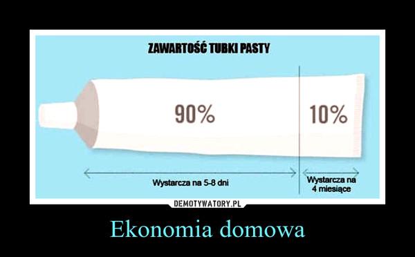 Ekonomia domowa –