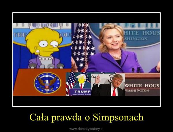 Cała prawda o Simpsonach –