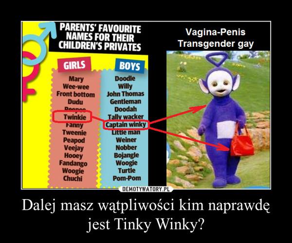 Dalej masz wątpliwości kim naprawdę jest Tinky Winky? –