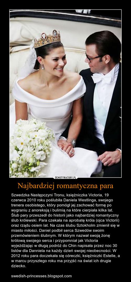 Najbardziej romantyczna para