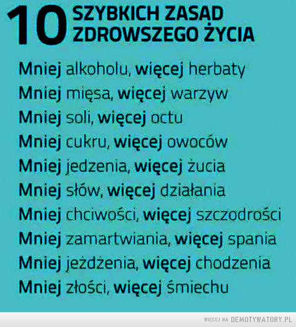 10 szybkich zasad... –