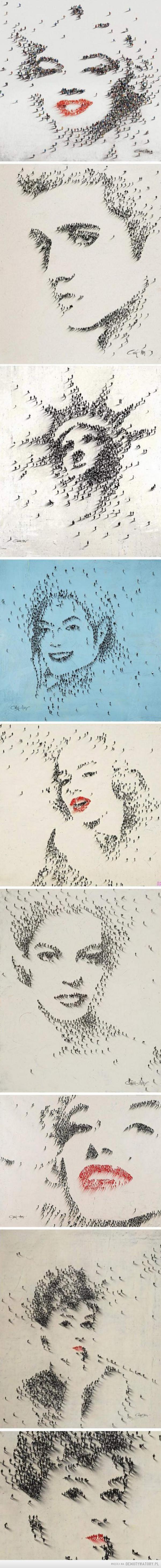 Ludzie to sztuka, a sztuka to ludzie –