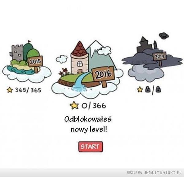 Odblokowałeś nowy poziom! –