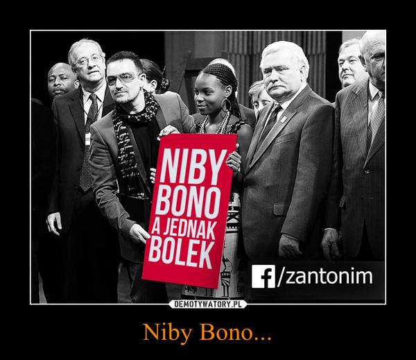 Niby Bono... –