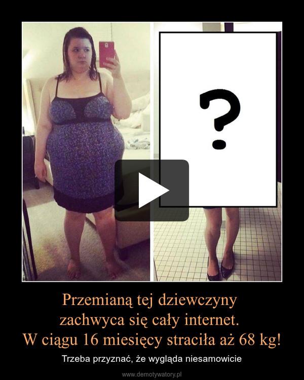 Przemianą tej dziewczyny zachwyca się cały internet. W ciągu 16 miesięcy straciła aż 68 kg! – Trzeba przyznać, że wygląda niesamowicie
