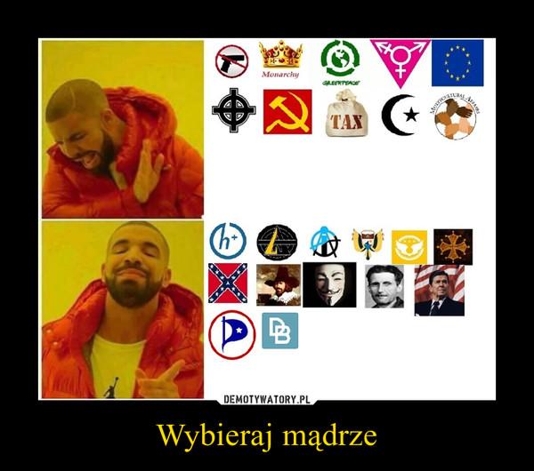 Wybieraj mądrze –