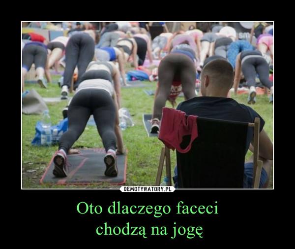 Oto dlaczego faceci chodzą na jogę –