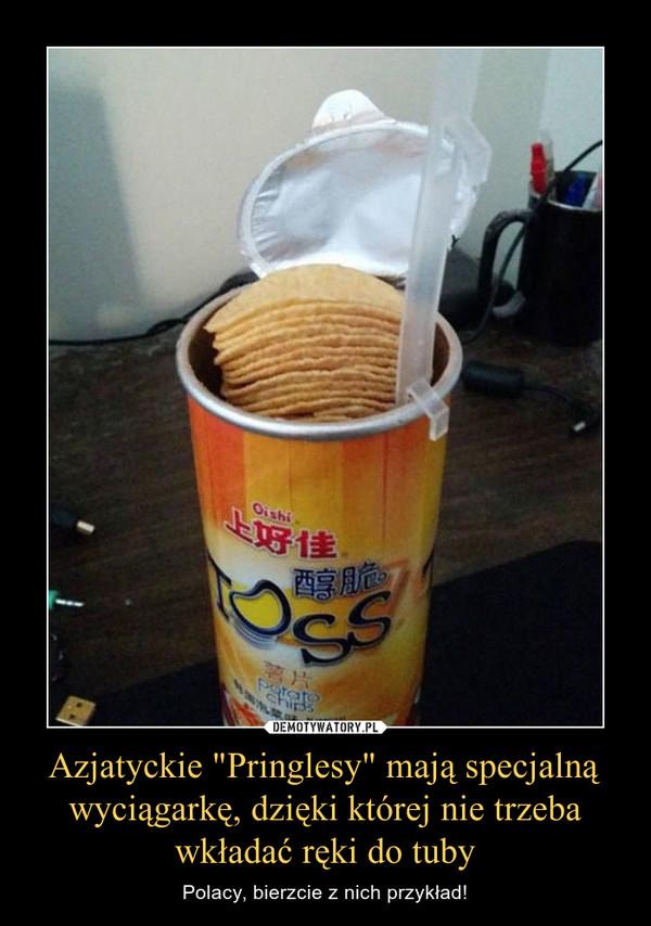 """Azjatyckie """"Pringlesy"""" mają specjalną wyciągarkę, dzięki której nie trzeba wkładać ręki do tuby – Polacy, bierzcie z nich przykład!"""