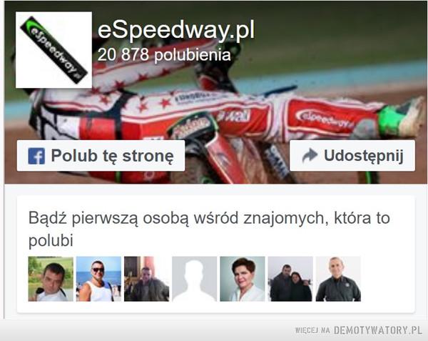 Czy Ty też lubisz speedway? –