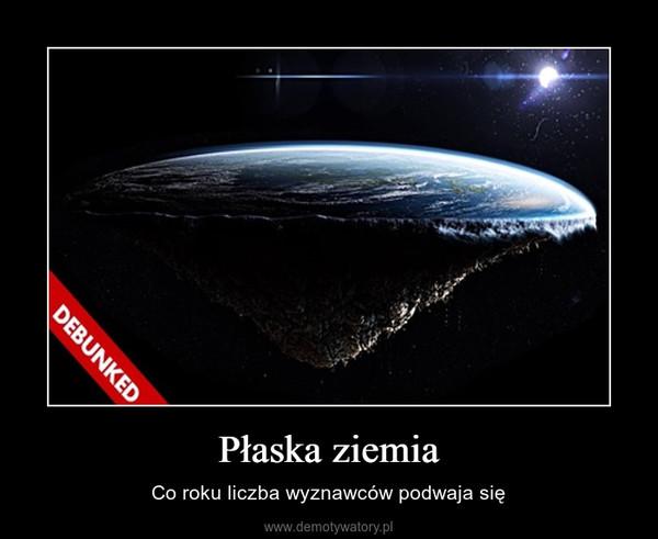 Płaska ziemia – Co roku liczba wyznawców podwaja się
