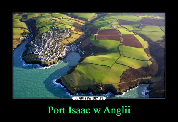 Port Isaac w Anglii –