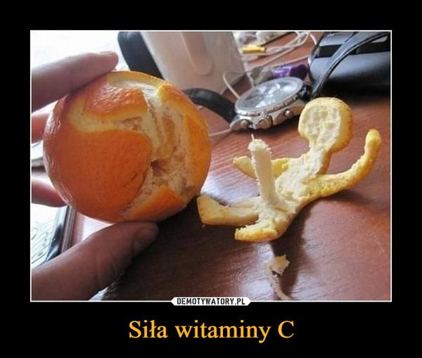Siła witaminy C –