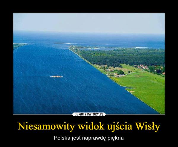 Niesamowity widok ujścia Wisły – Polska jest naprawdę piękna