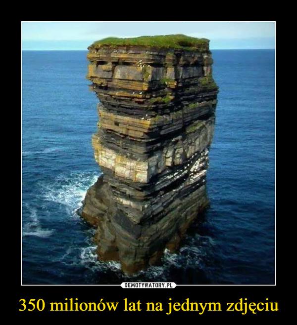 350 milionów lat na jednym zdjęciu –