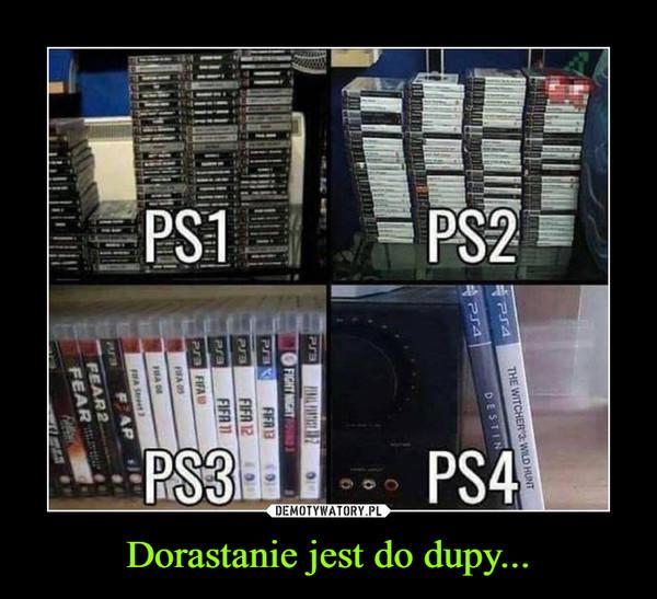 Dorastanie jest do dupy... –  PS1 PS2 PS3 PS4