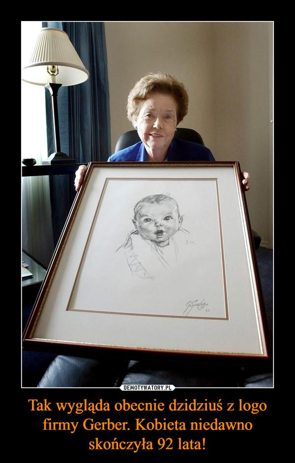 Tak wygląda obecnie dzidziuś z logo firmy Gerber. Kobieta niedawno skończyła 92 lata! –